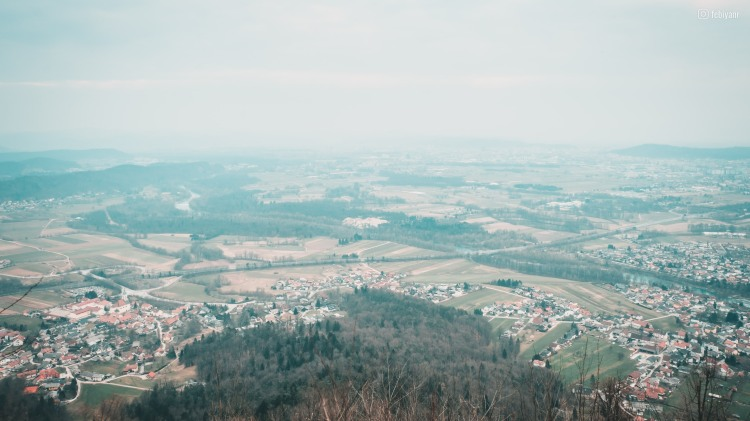 View from Smarna Gora