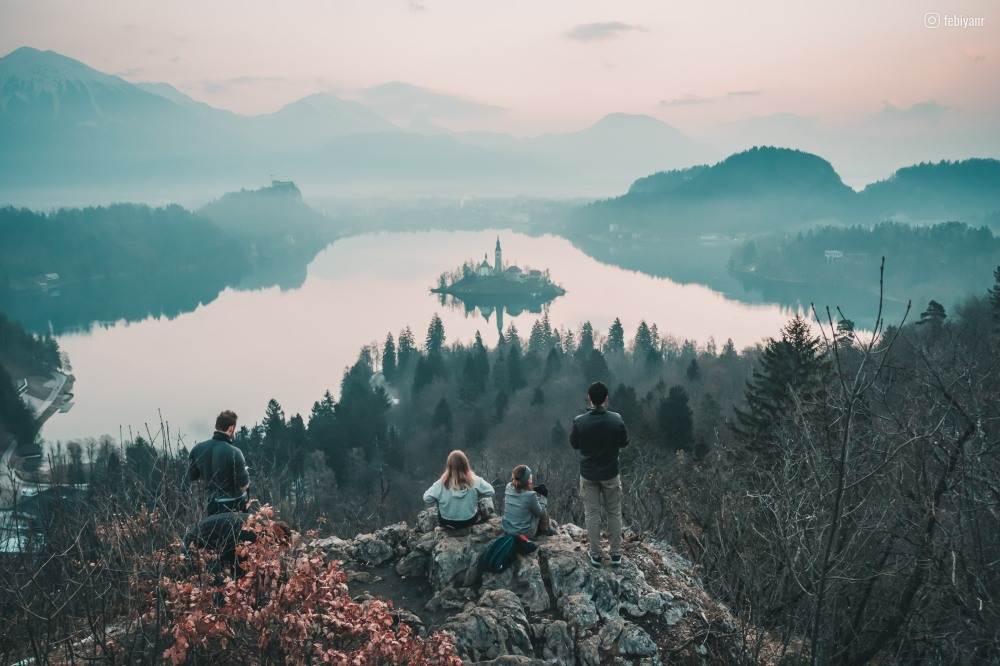 View of Bled From Ojstrica